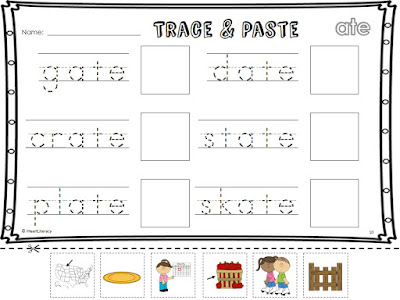 NO PREP Phonics Pakcets: Long Vowels, Short Vowels, R-Controlled Vowels, Digraphs, Trigraphs, Blends, and more!
