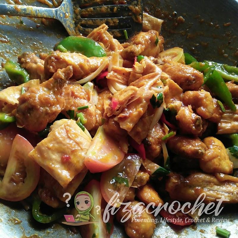 Ayam Masak Merah Mudah dan Sedap