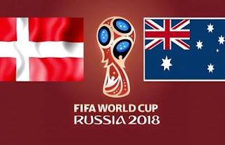 مباراة الدنمارك واستراليا بث مباشر اليوم الخميس 21-6-2018 في كأس العالم المجموعة الثالثة