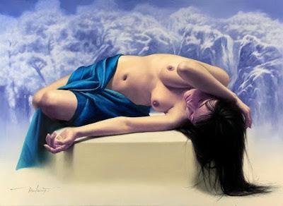 Chicas Coreanas en la Pintura de Jeong Hae Kwang