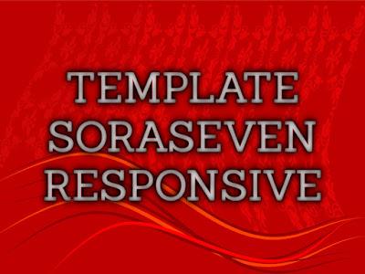 Template Terbaru 2017 Sora Seven Seo Responsive Download Gratis