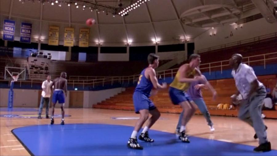 basta vincere basket location film