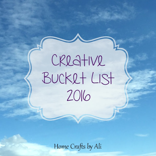 crafty creative bucket list 2016 10 projects sewing, painting, craft, diy projects, home decor, gifts