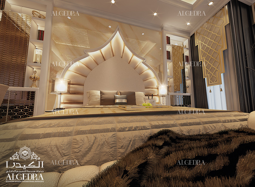 Algedra interior and exterior design uae exquisite for Bedroom elegant designs