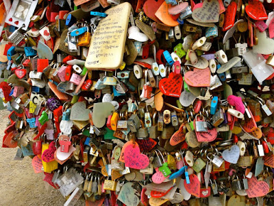 Love Padlocks at Namsan Seoul Tower