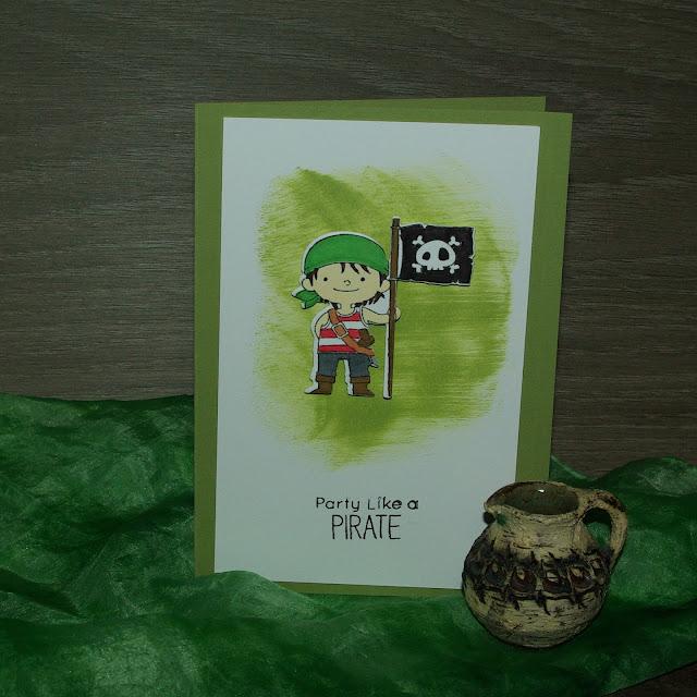 [DIY] Party Like a Pirate! Grußkarte für alle kleinen - und großen - Piraten