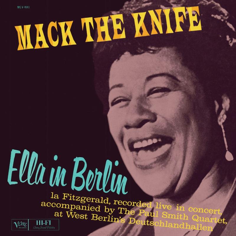 Jazz Chill Verve Ume To Reissue Ella Fitzgerald S Mack