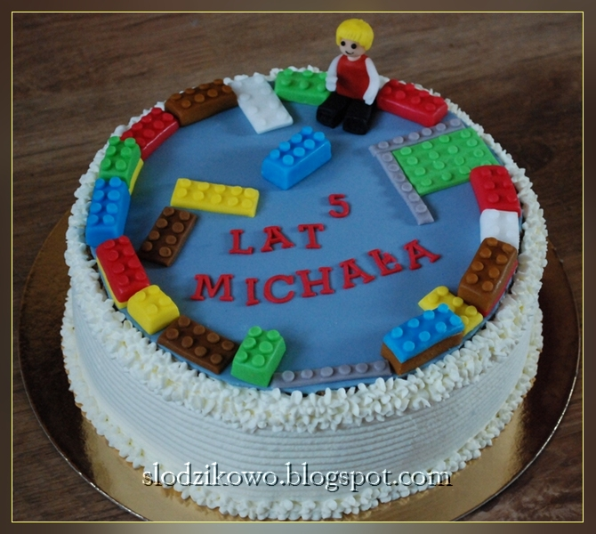 Słodzikowo Tort Z Lego 2