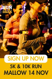 Run in the Dark 5k & 10k in Mallow... Wed 14th Nov 2018