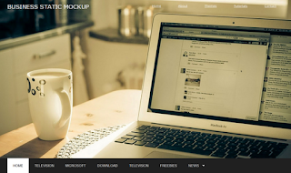 Business Static Blogger Template