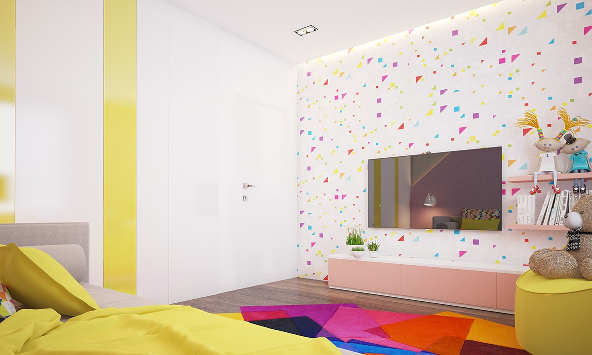 5e8dc31d6b0 VM designblogg: Χαρούμενο Κοριτσίστικο Δωμάτιο