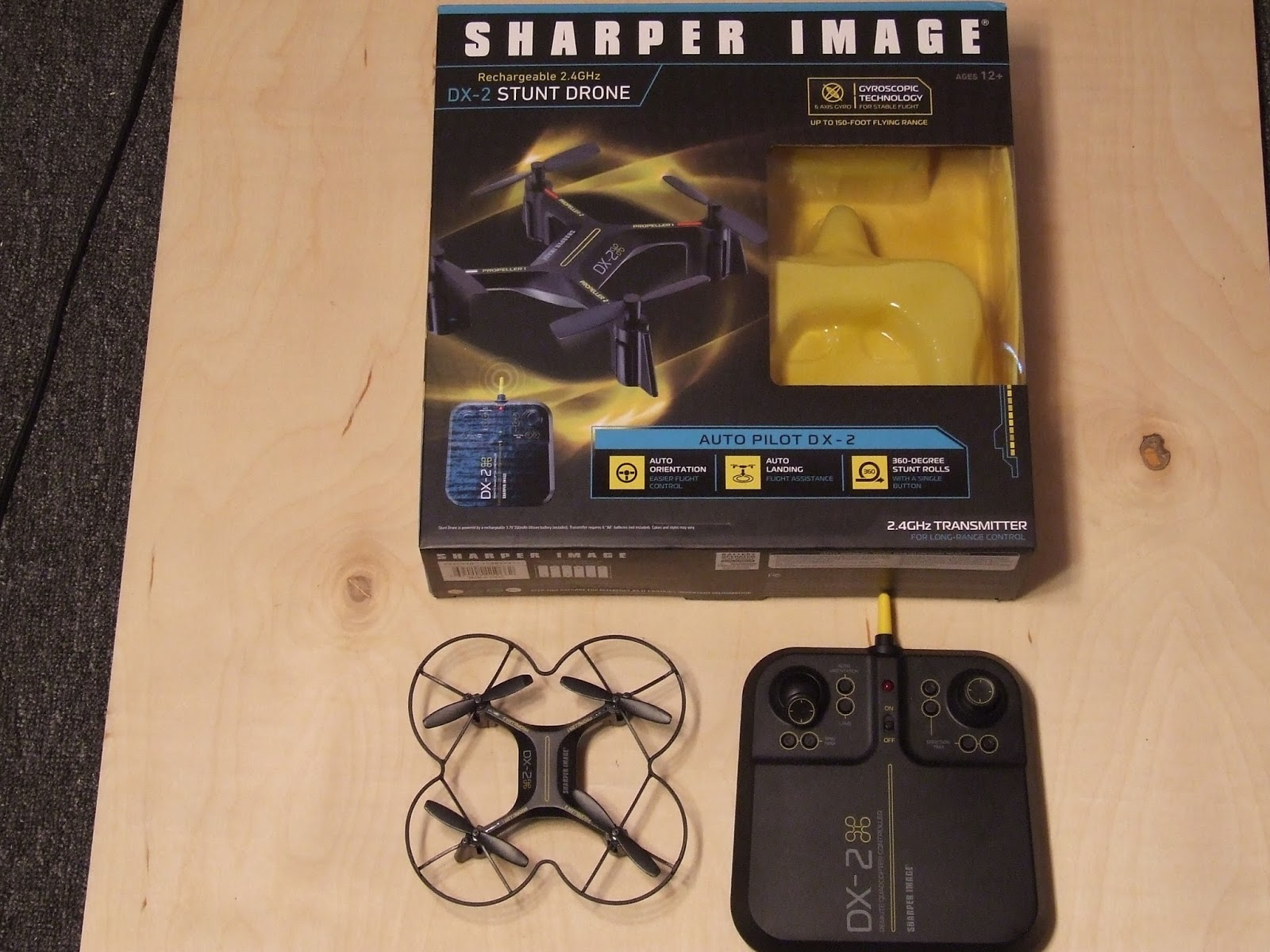 Harolds Micro Quadcopters Sharper Image Dx 2 Stunt Drone