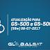 Globalsat GS500/GS500 Plus Atualização V202.416 - 08/07/2017