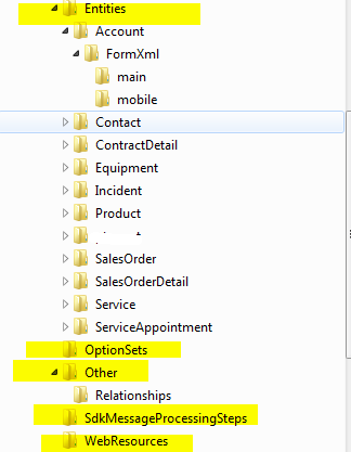 cRm Musings: Solution Packager - Enable Source Control for
