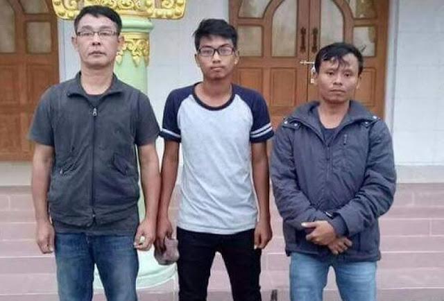 အိခ်ယ္ရီေအာင္ (Myanmar Now) ● ထိန္းသိမ္းခံ သတင္းသမားသံုးဦး ေျခရာေပ်ာက္ေန