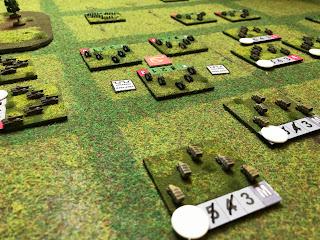 Soviet defenders build their defences against the Germans