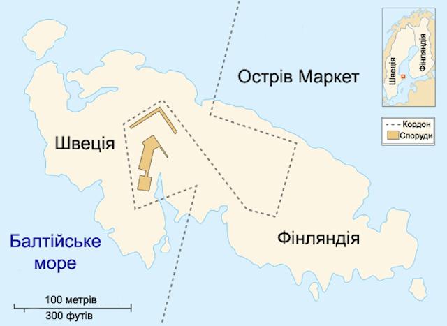 إحدى جزر بحر البلطيق تتبع منطقتين زمنيتين