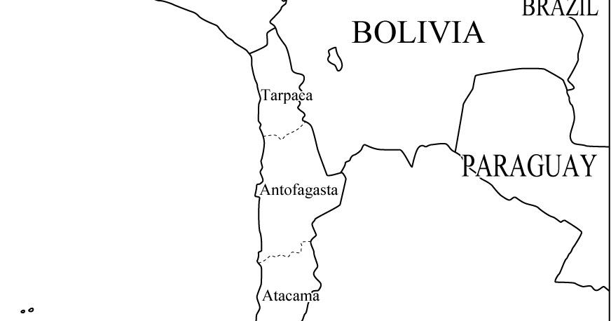 Dibujo De Chilena Para Colorear: Mapas De Chile: Mapa De Chile Para Colorear