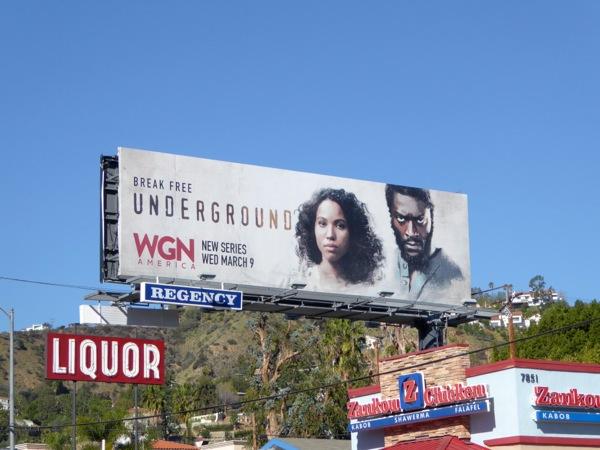 Underground series premiere billboard