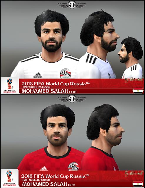 ded09ffe094 PES 6 Mohamed Salah (Liverpool) 2018/19 New Face - Micano4u | PES ...