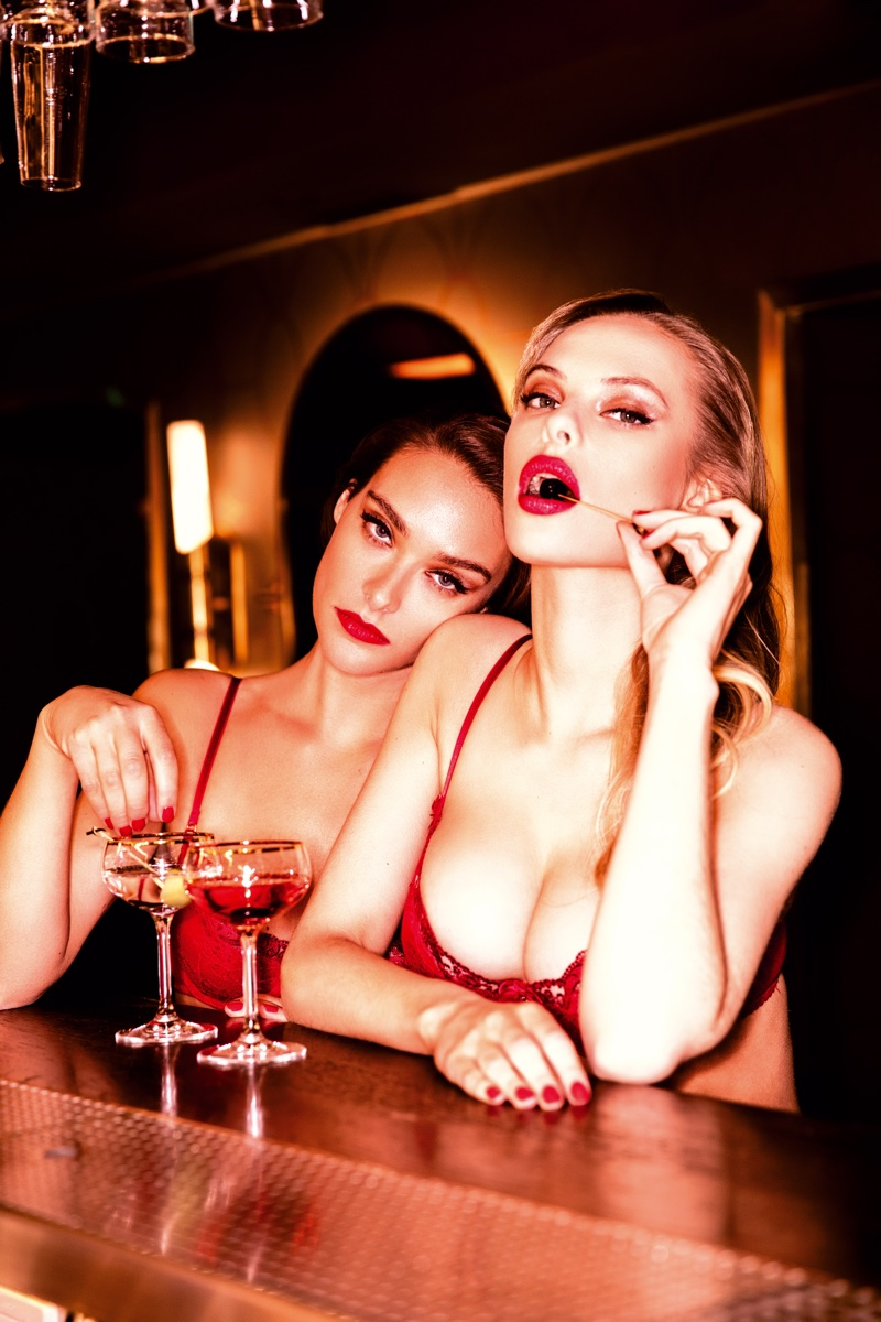 Dioni & Charlie Heat Up Honey Birdette 'London Calling' Campaign