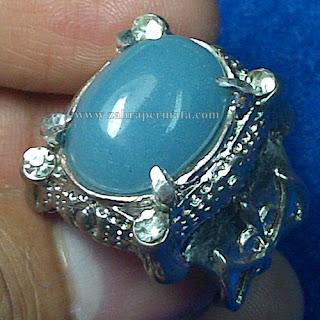 Cincin Batu Posfor Biru