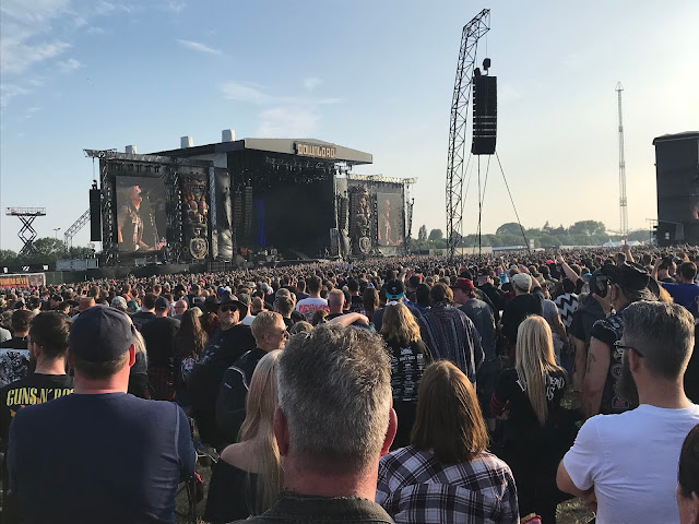 Guns 'n' Roses at Download UK 2018