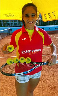 Marina Benito Tenis Aranjuez Mutua Madrid Open