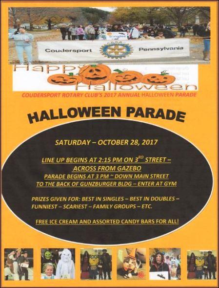 10-28 Coudersport Halloween Parade