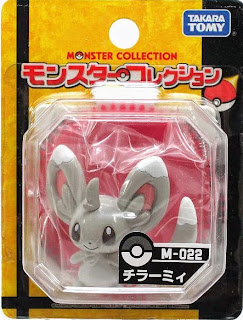 Minccino figure Takara Tomy Monster Collection M series