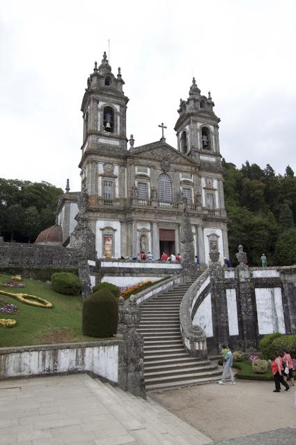 Braga-Chiesa del Dom Jesus do monte