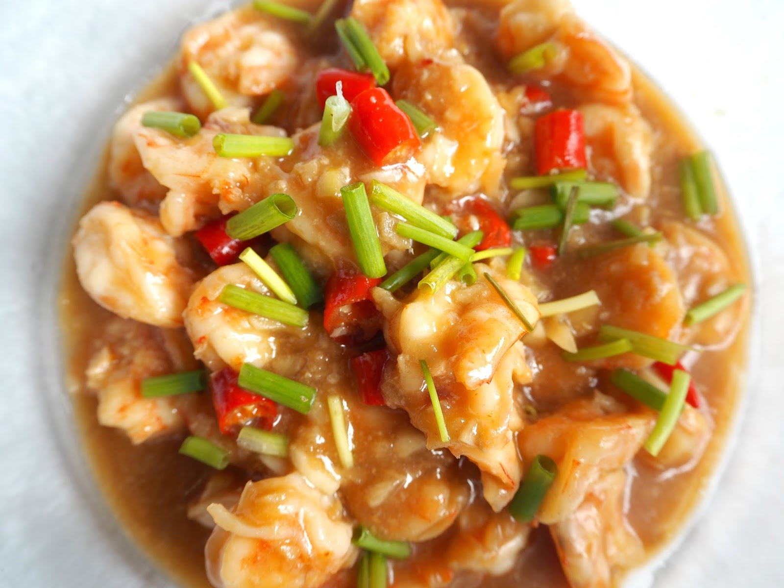 stir fry spicy shrimp
