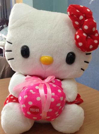 Sanrio pada akhirnya jual beragam product Hello Kitty 1b50d8d66c