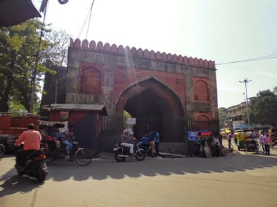 Ajmeri Gate of Old Delhi
