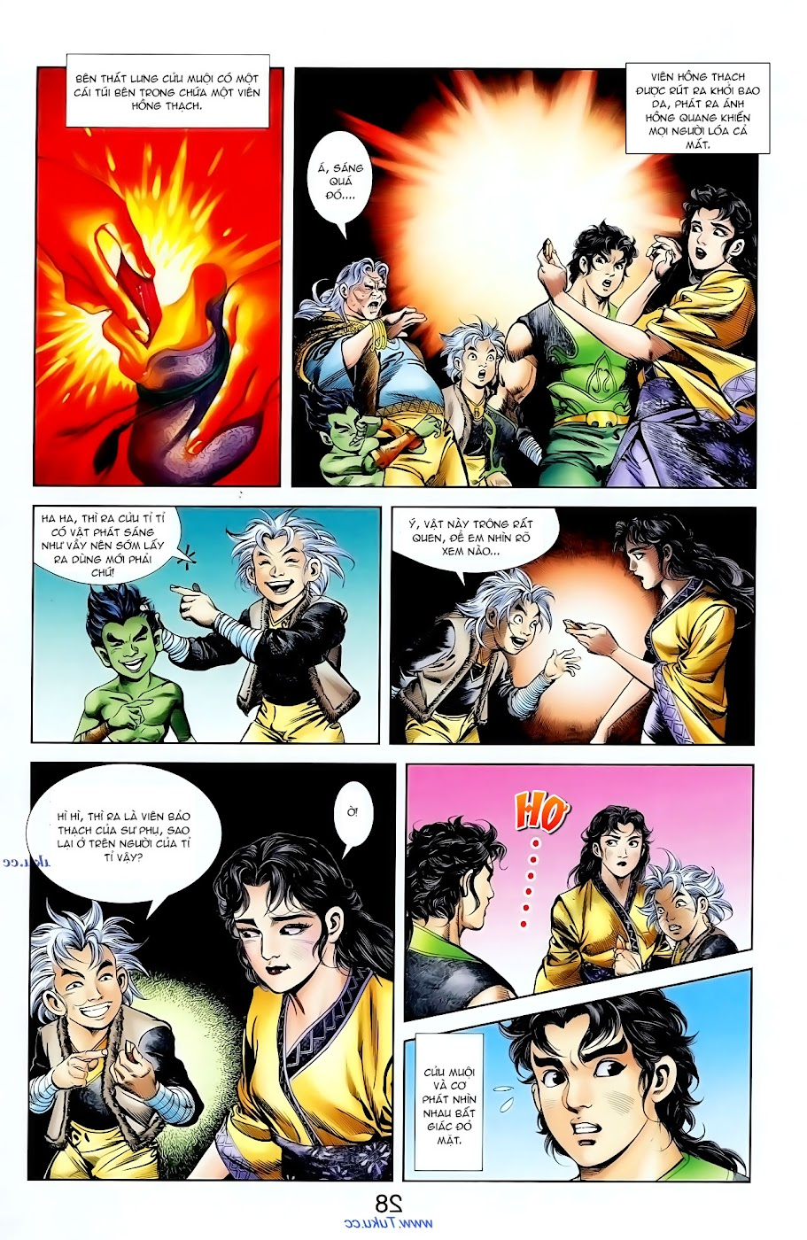 Cơ Phát Khai Chu Bản chapter 96 trang 12