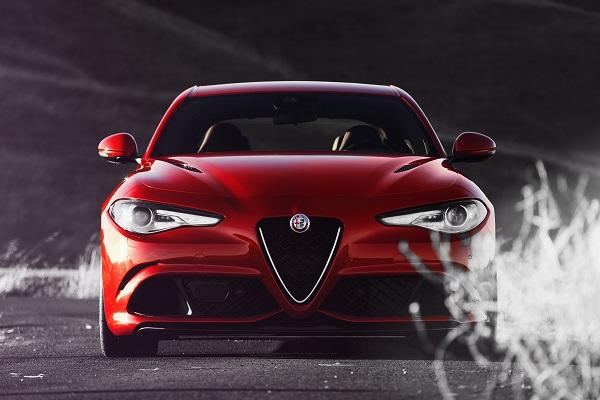Alfa Romeo Giulia QV Top Gear