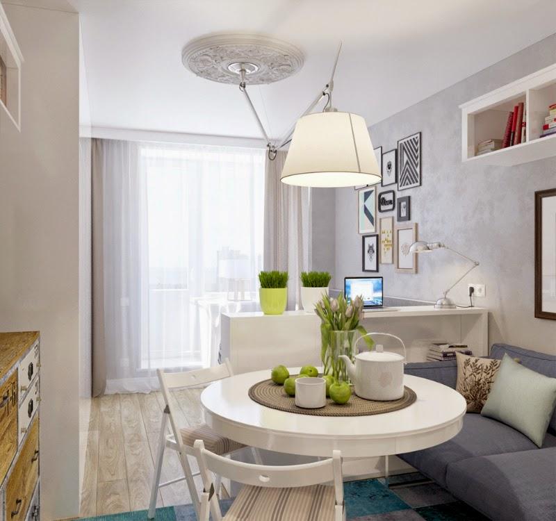 Morar bem em pequenos espaços: com planejamento dá certo. Blog Achados de Decoração