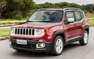 Jeep Renegade 2017 estreia novidades