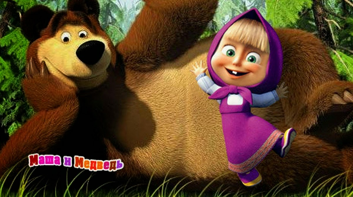 Gambar Masha and The Bear