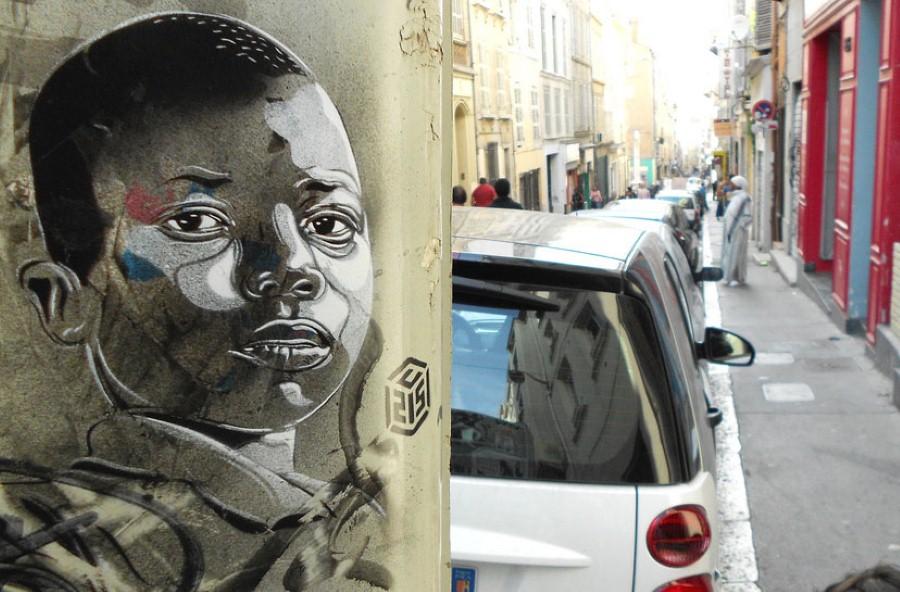 Уличное искусство Кристиана Гуеми (Christian Guémy aka C215) 57