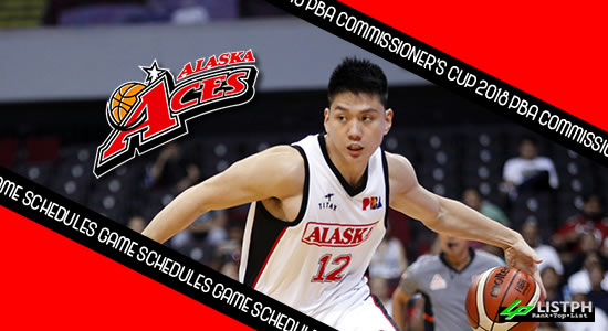 Alaska Aces Game Schedules list 2018 PBA Commissioner's Cup