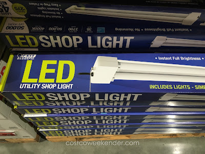 Feit Electric Led Utility Shop Light Costco Weekender
