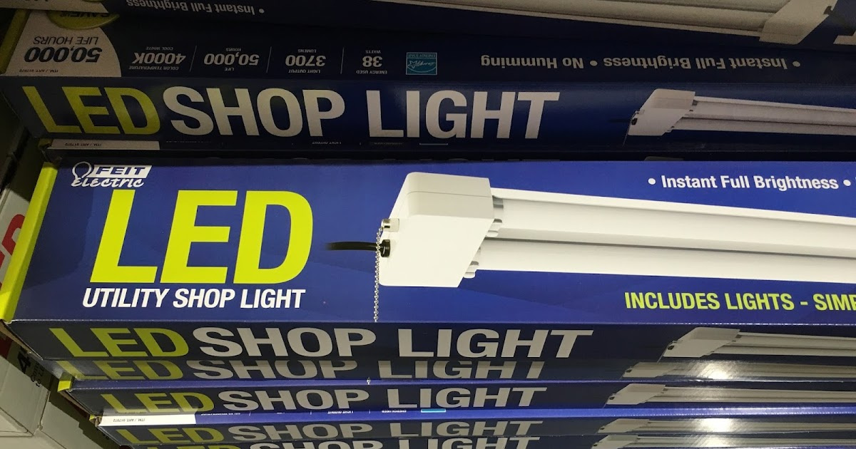 Feit Electric LED Utility Shop Light | Costco Weekender