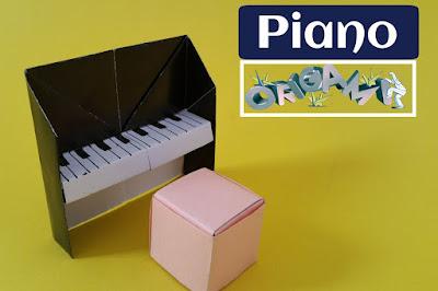 Cách gấp, xếp cây đàn bằng giấy origami - Video hướng dẫn - how to fold