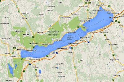 balaton gölü harita