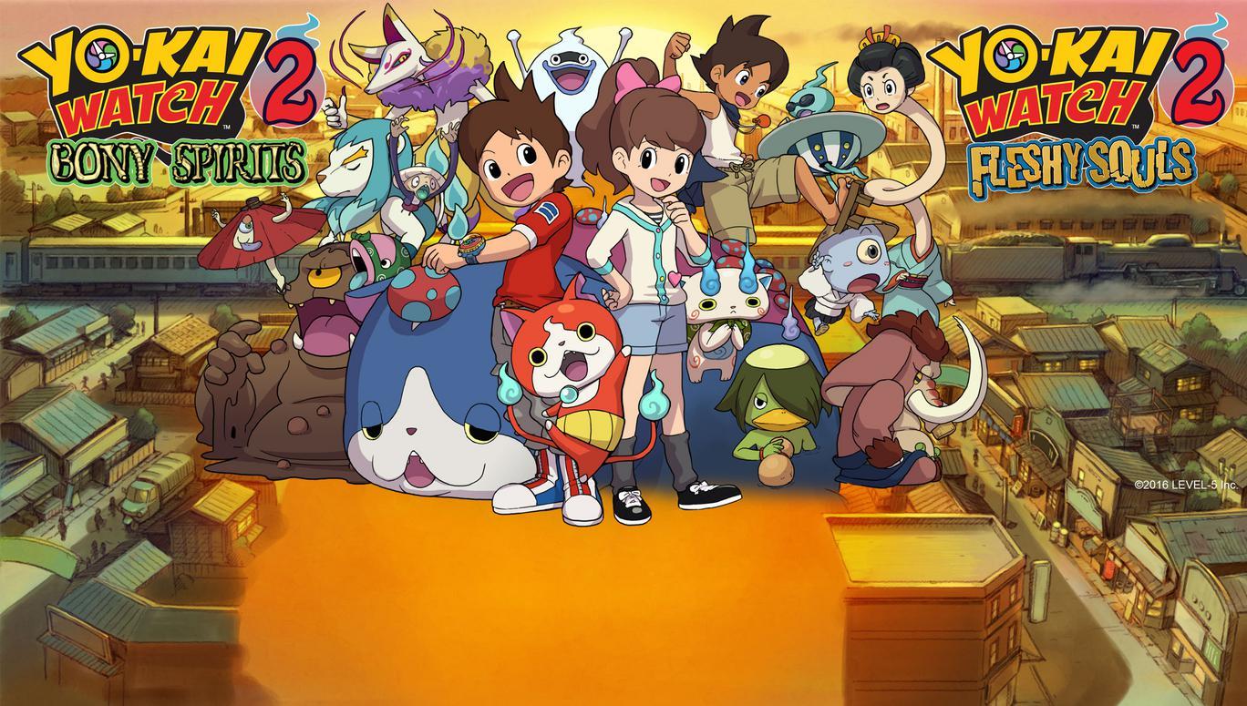 YO KAI WATCH Fleshy Souls Nintendo 3DS