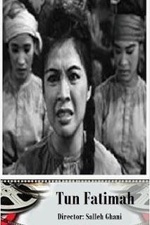 Maria Menado dalam filem Tun Fatimah 1969, Tun Fatimah kahwin dengan Sultan Mahmud Zaman Melaka