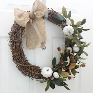 Simple Neutral Fall Wreath