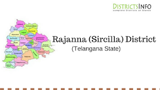 Rajanna (Sircilla) District with Mandals