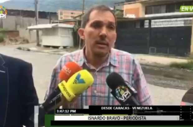 Isnardo Bravo aseguró que su detención fue en relación al caso de Óscar Pérez
